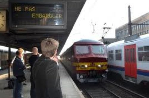 Article : Le rail belge serpente