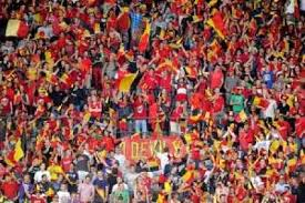 La folie des supporters des Diables Rouges (source SudInfo.be)