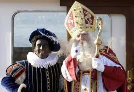 Le Grand Saint, accompagnée de son fidèle Père Fouettard
